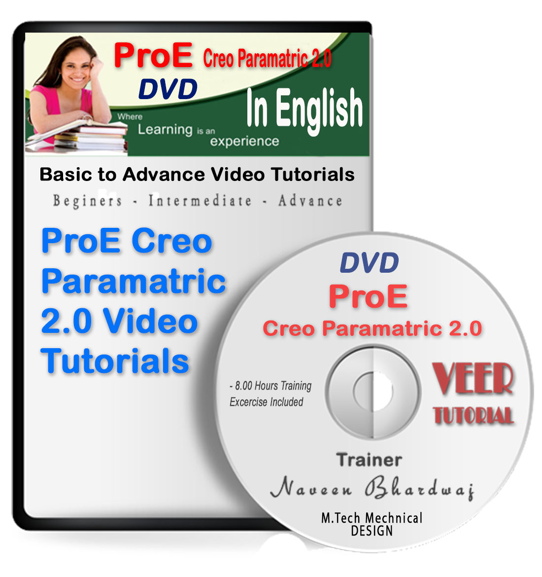 Pro Engineer Creo 2 0 Basic to Advance Video Training in English